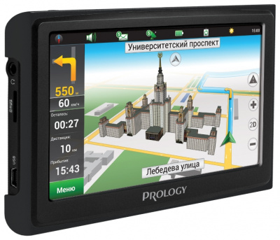 Навигатор Prology iMAP-5300 black